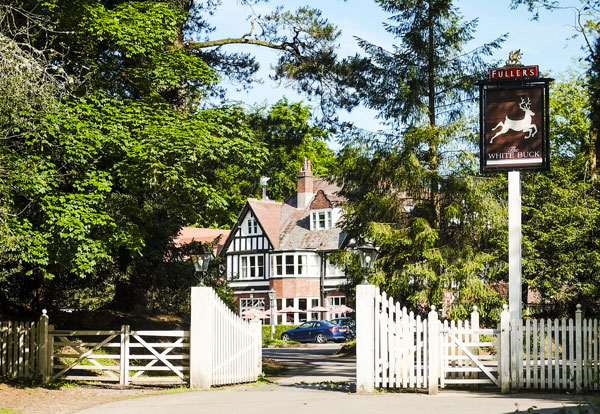 romantic hotel in the new forest