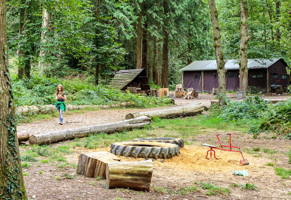 Kids love Midgham Farm glamping