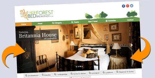 new forest bed and breakfast advertising