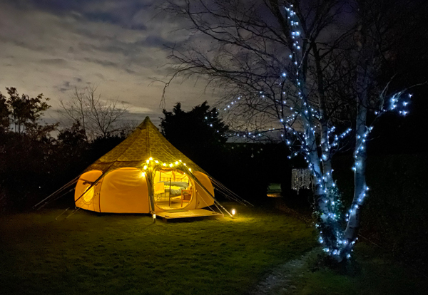Lotus Belle Tent Glamping in Lymington