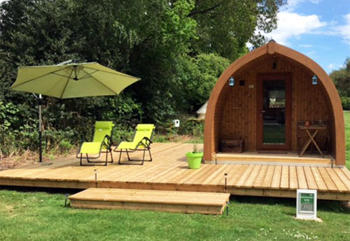 Adult only glamping site in the New Forest