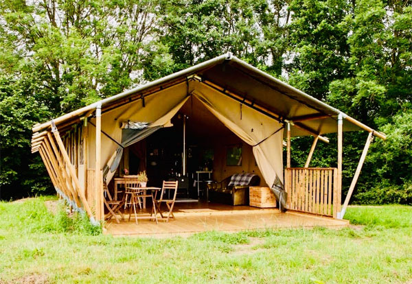 Dog friendly glamping in the New Forest